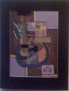 "My"" Jazz Box"" Collage"