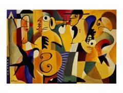 John Hillmer Jazz Poster