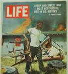 Life Magazinre Watts Riot Cover Story photo