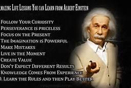 Life Lesson from Albert Einstein