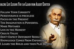 Life Lesson from Albert Einstein