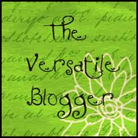Versitile Blogger Award