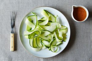 vegan-zucchini-pasta_ Courtesy of food52_MarkWweinberg_