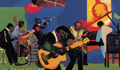 · Romare Bearden Estate; art  Copyright Licenced by Romare Bearden Foundation