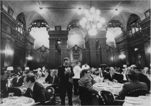 Mens Bar - Plaza Hotel New York City (Back in the day)
