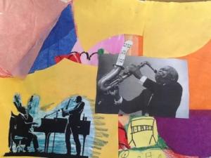 Romare Bearden Jazz  Collages