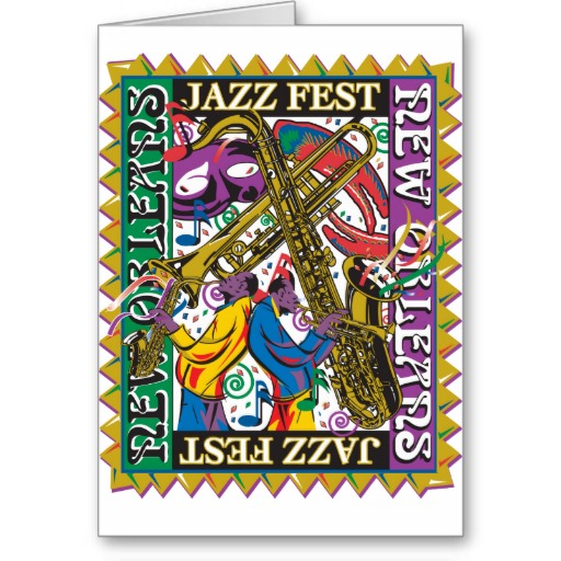 new_orleans_jazz_fest_greeting_card