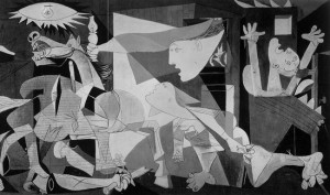 Picasso_Guernica Courtesy of simonbrushfield_dot_com