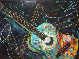 Ready to Go by Art of Hope Courtesy of paintingsilove_dot_com