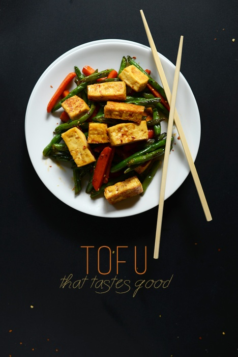 Tofu that tastes awesome
