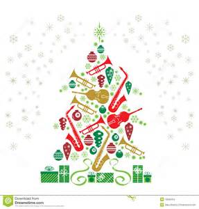 Jazz Christmas Tree - Courtesy of dreamstime[dot]com