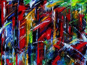 Texture Absttact Jazz Art Paintings Courtesy of bits-r-us-dot-net