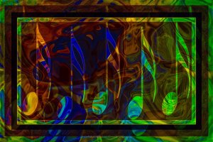 Music is Magical Abstract Healing Art By Omaste Witkowski owFotoGrafik.com